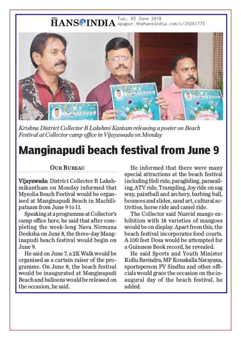 01 Maisolia Masulipatnam Beach Festival 2018 News Clips 05th June-2018_Page_10