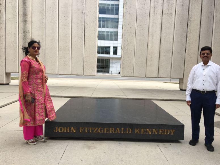 at John F Kennedy