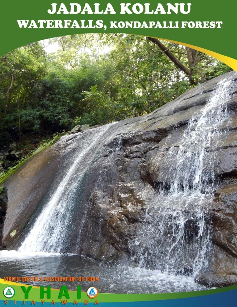 Jadala Kolanu WaterFalls - Kondapalli Forest