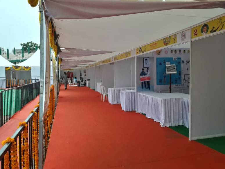 JnanaBheri-Arrangements-Stalls