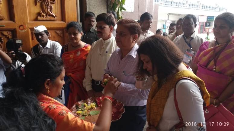 CS & Collector Family Visit to Durga Temple Photos 03