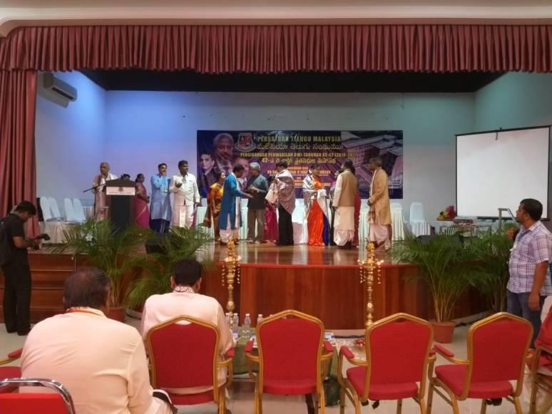Malaysia Telugu Sangham Felicitated Collector B Lakshmikantham Photos 04