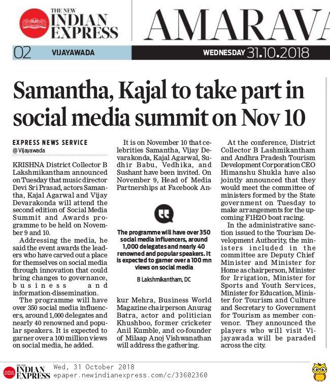 Social Media Summit Express 31-10-2018