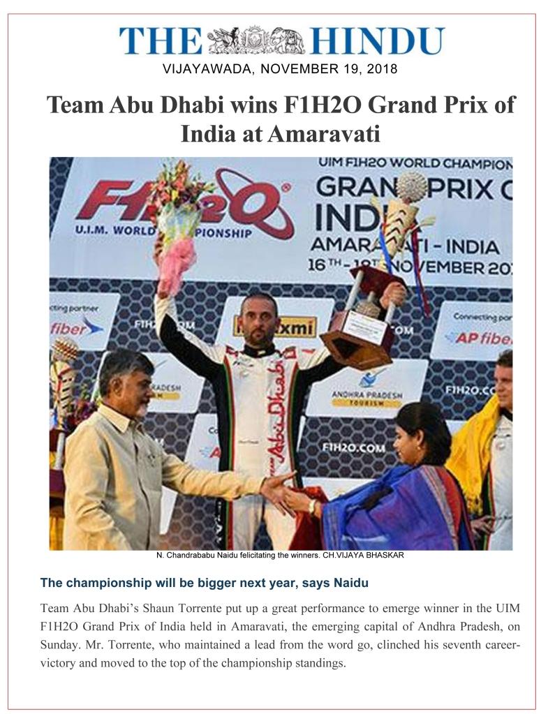Microsoft Word - Team Abu Dhabi wins F1H2O Grand Prix of India a