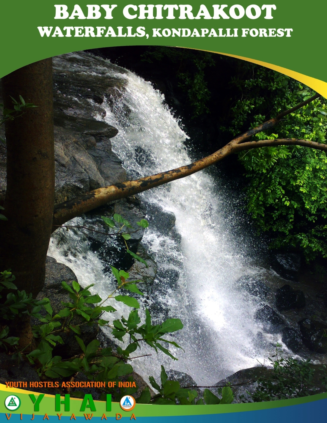 Baby Chitrakoot WaterFalls - Kondapalli Forest