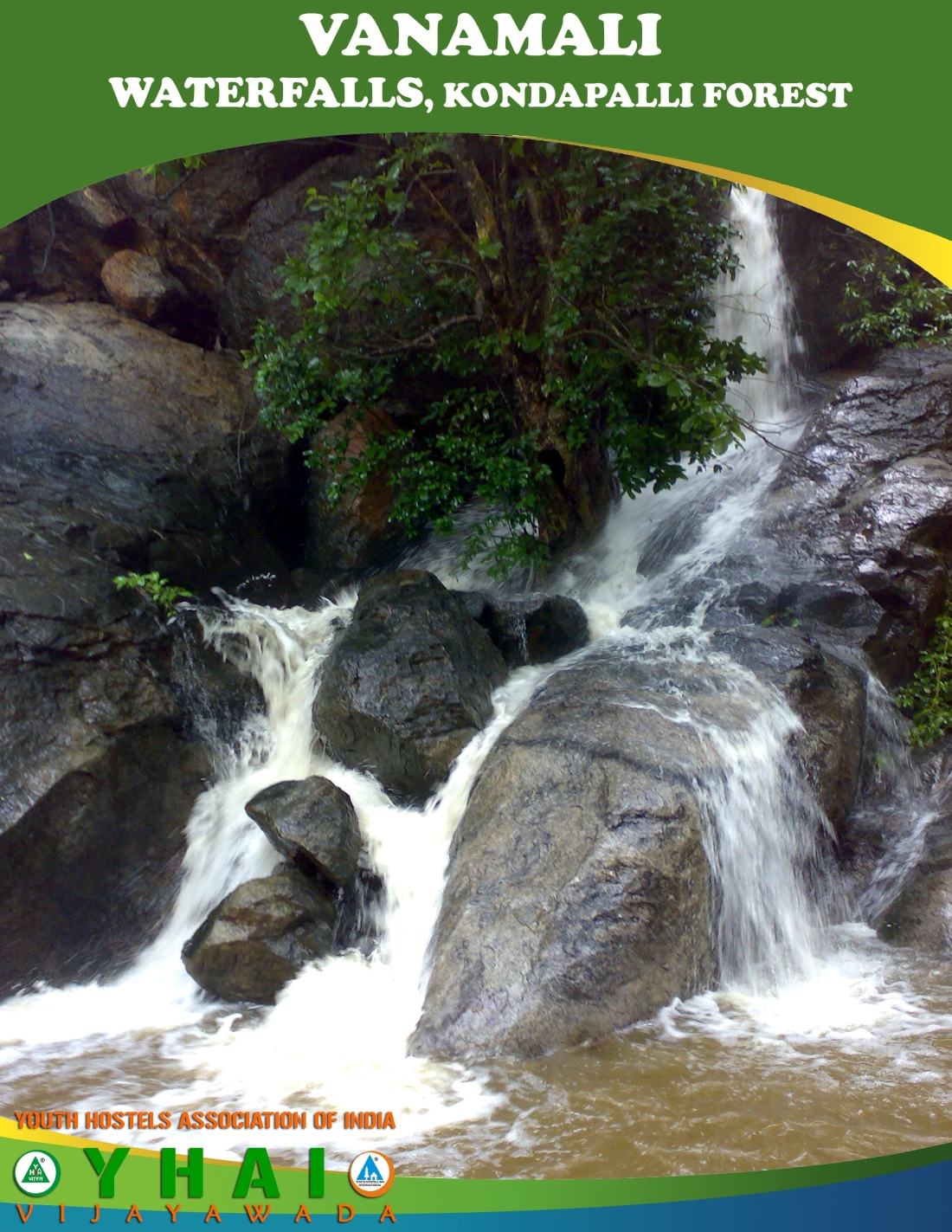 Vanamali WaterFalls - Kondapalli Forest