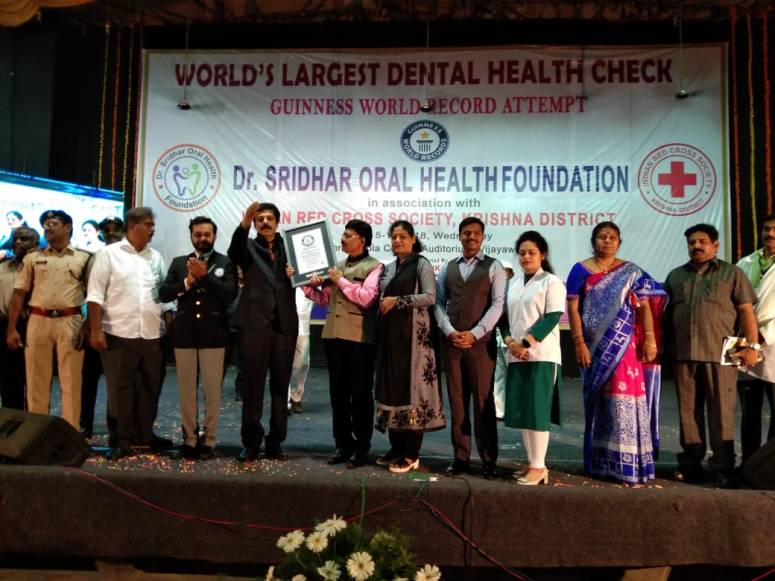 Dental Camp Guinness World Record Photo