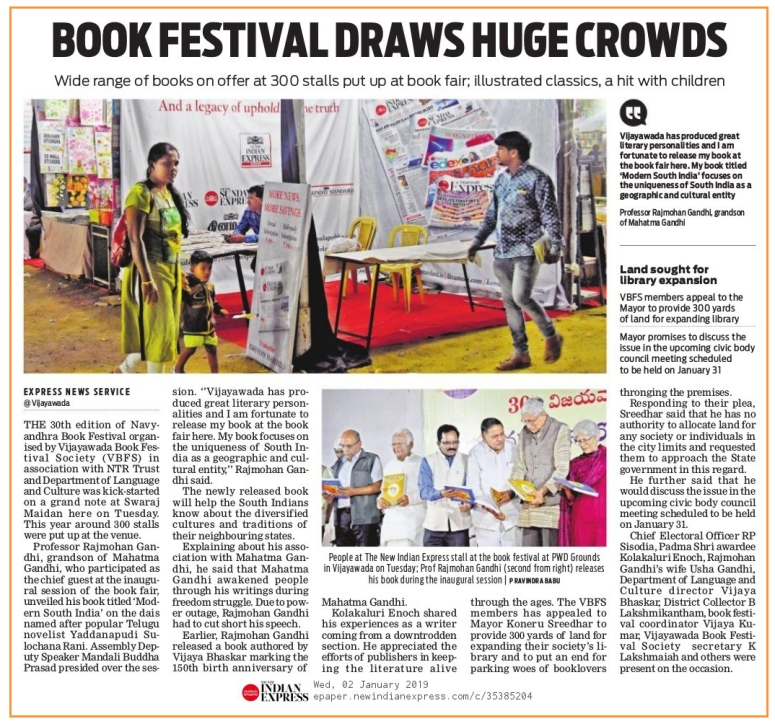 Book Exhibition Inauguration IndianExpress 02-01-2019.jpg
