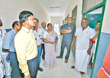 Inspections at VishnuNivasam & others Eenadu Photo.jpg