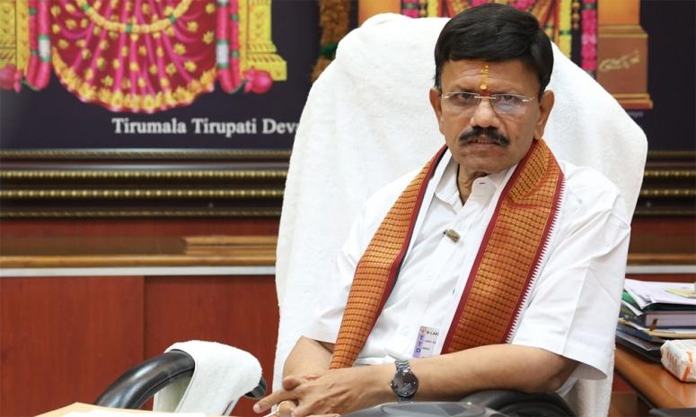 TTD Tirupati JEO Lakshmikantham